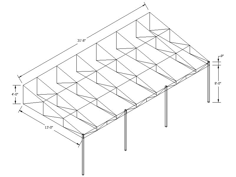 Awning Frame Drawings